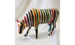 COW PARADE-STRIPED