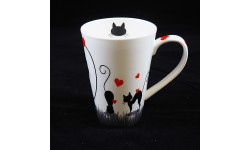 JAMESON & TAILOR-LOVE CATS-MUG