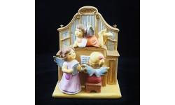 GOEBEL-ANGELI AL PIANOFORTE