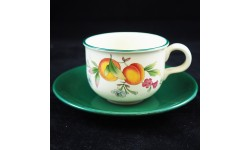 CLOVERLEAF-PEACHES & CREAM-6 TAZZE Tè