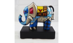 ROMERO BRITTO-GREAT INDIA 2ELEFANTE