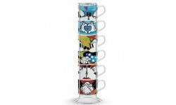 DISNEY-LOVE SWEET LOVE-SET DI 6 TAZZINE